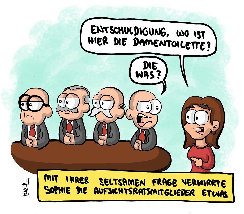 Satire mit Stift: Gleichberechtigung 2019 - Livia
